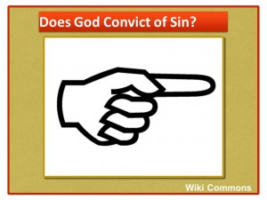Does God Convict of Sin 1