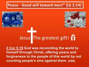 Xmas Message PWM 2013